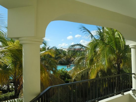 The Reserve at Paradisus Punta Cana: view from balcony