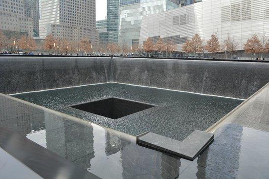 National September 11 Memorial und Museum: Local onde ficava uma das torres