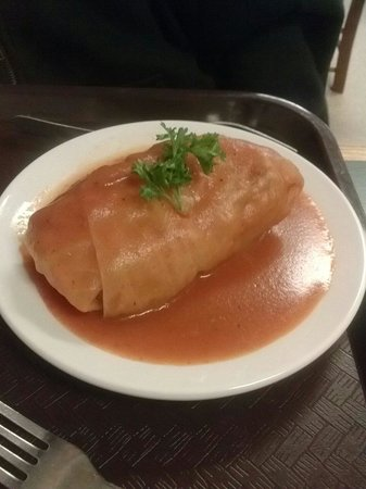 The Strip District: Stuffed cabbage