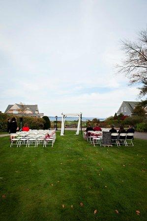 Black Point Inn Resort : The ceremony site