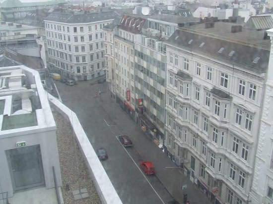 Generator Hostel Hamburg: View from the room