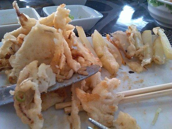 Me Too Sushi Buffet: ¿Tempura de verduras?
