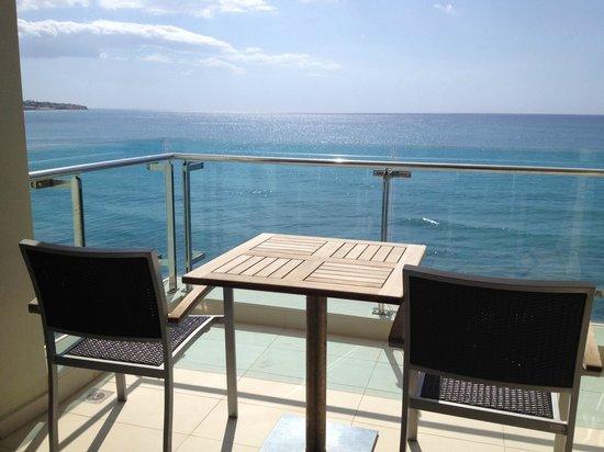 Hotel El Greco Ierapetra : amazing sea view from the balconies of El Greco hotel