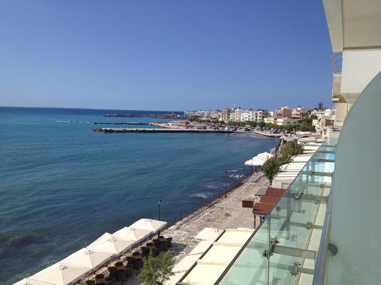 Hotel El Greco Ierapetra : View to the city from the balconies of El Greco hotel