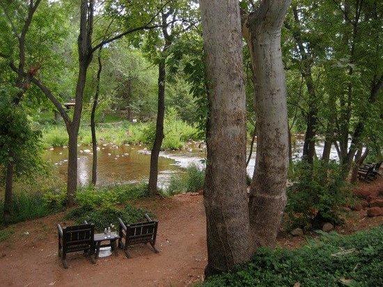 L'Auberge de Sedona : Very close to nature