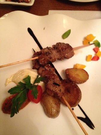 Bodega Marques: Lamb Skewers