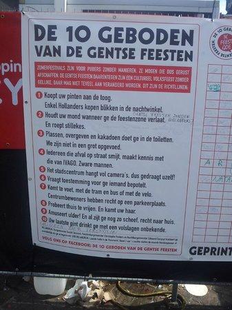 Novotel Gent Centrum : Gentse feest 10 geboden