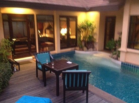 Bo Phut Resort & Spa: the private pool
