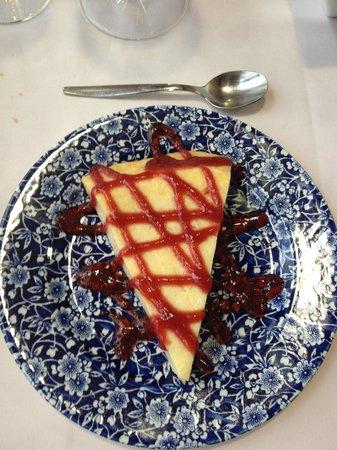 Restaurant Mare de la Font: Tarta de queso
