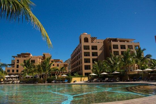Villa del Palmar Beach Resort & Spa at The Islands of Loreto: view to room on 3rd floor corner