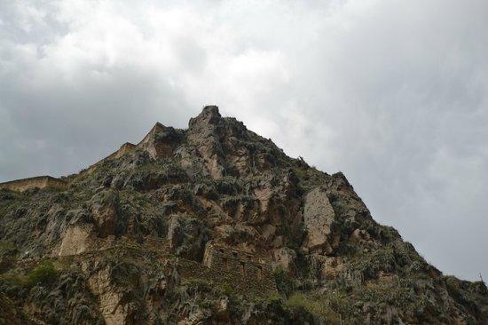 Temple d'Ollantaytambo : храм Олла