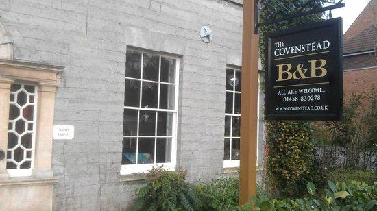 The Covenstead Glastonbury: exterior