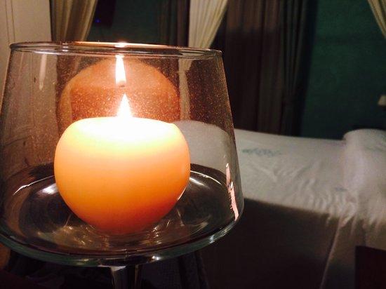 Villa Barbarossa: A lume di candela