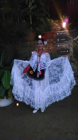 Rhythms of the Night by Vallarta Adventures: Beautiful all around, and yes, that is a lit candle on her head!