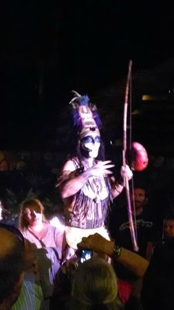 Rhythms of the Night by Vallarta Adventures: Only picture I could get of him.
