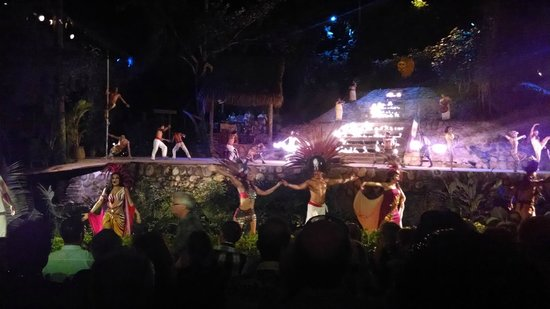 Rhythms of the Night by Vallarta Adventures: Finale of the show, no cameras during performance