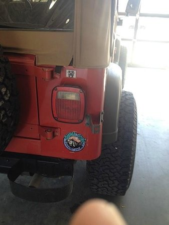 Iguana Surf: My Jeep