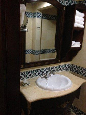 Dar Diaf Bouchaoui: il bagno