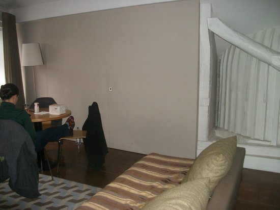 Oporto Tourist Apartments: Sala de estar