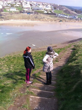 38 degrees north: cliff top walk