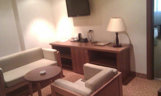 Hotel Hocine : Room entrance