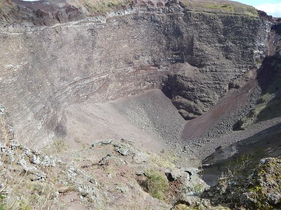 Vesuv: Кратер
