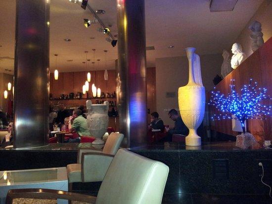 Hotel Princesa Parc : Lounge area.