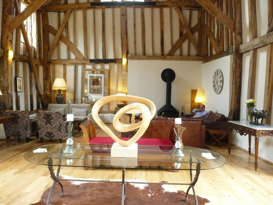 The Barn at Roundhurst: The main room / reception area