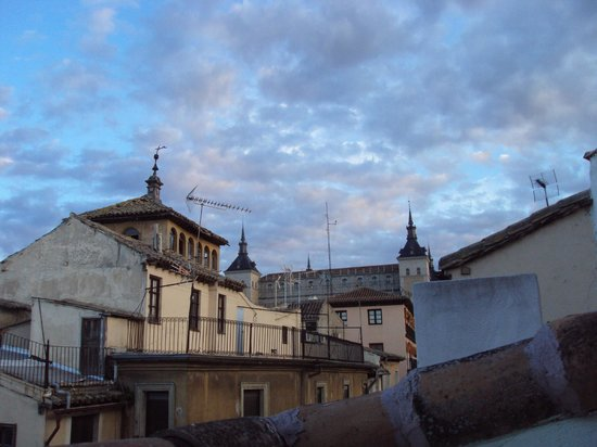 Hotel Domus Plaza Zocodover : Vista de los tejados