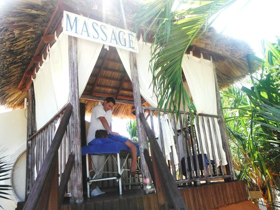 Sol Cayo Guillermo: massage