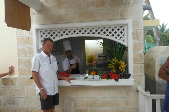 Sol Cayo Guillermo: manuel great chef