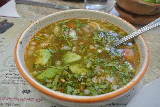 El Abajeno : Chicken Mexican Soup