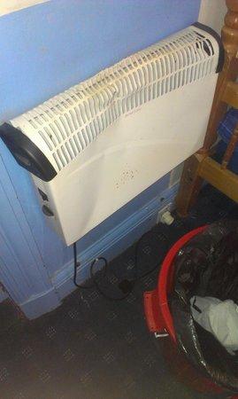 Edinburgh Backpackers Hostel: Klimaanlage