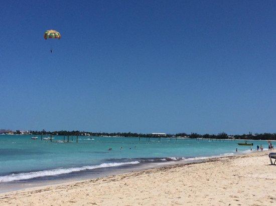 Melia Nassau Beach - All Inclusive: Beach is amazing!!!