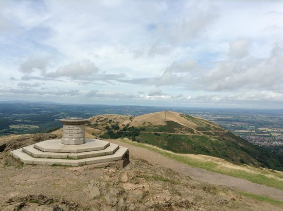 Malvern Hills: View from the top of Beacon