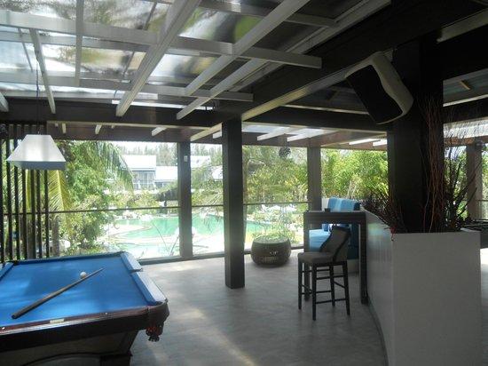 Natai Beach Resort & Spa, Phang-nga: sala c/biliardo