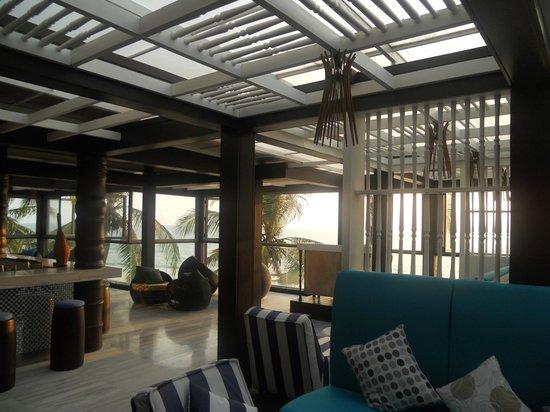Natai Beach Resort & Spa, Phang-nga: sala relax