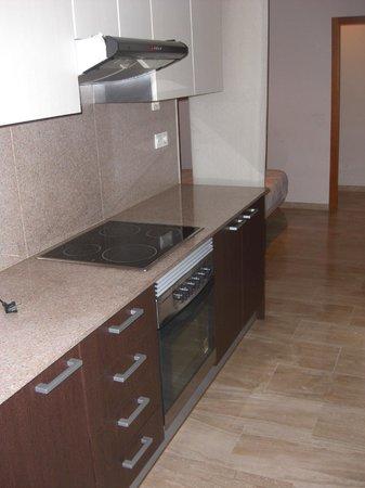 Valencia Central Apartments: vitro horno extractora