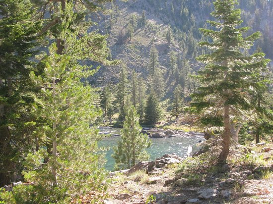Trinity Alps : Upper Dead Fall Lake
