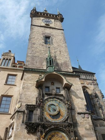 Old Town Hall and Astronomical Clock : Clock tower