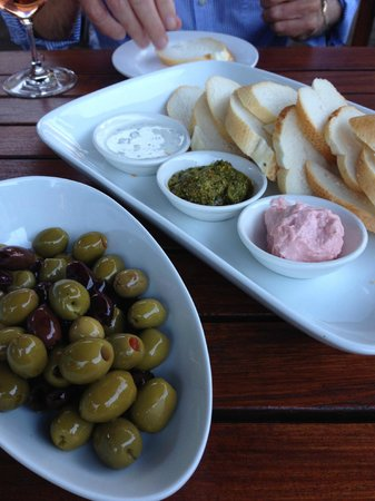 Union Bank Wine Bar & Dining: Meze'  - the Taramasalata was the best I have ever had