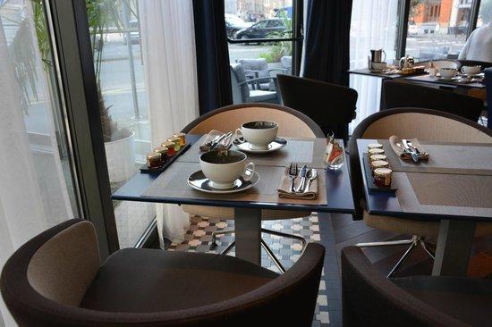 BEST WESTERN PREMIER Why Hotel : Au petit-déjeuner