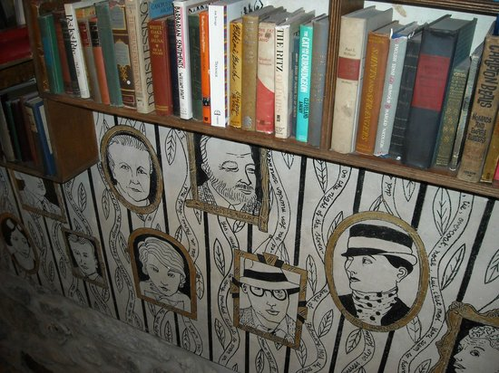Librairie Shakespeare and Company : Different shakesperan art