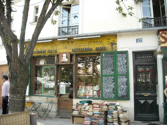 Librairie Shakespeare and Company : Front of the store