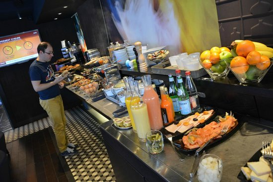 BEST WESTERN PREMIER Why Hotel : Buffet du petit-déjeuner