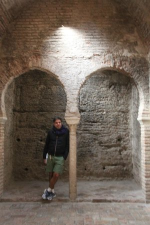 El Banuelo: Internal rooms