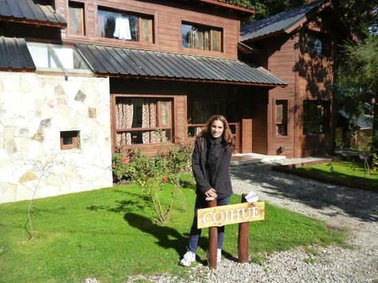 Bosque del Nahuel: Frente a la cabaña