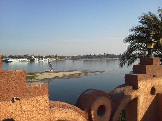 Villa al-diwan: vue de la terrasse