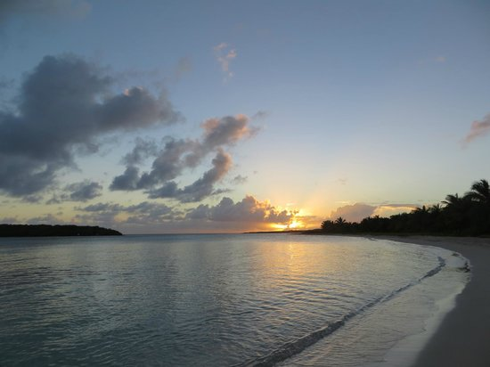 Sunset at Blue Beach