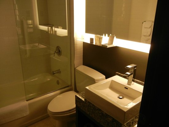 ACME Hotel Company Chicago: Bathroom was small, but functional and clean.